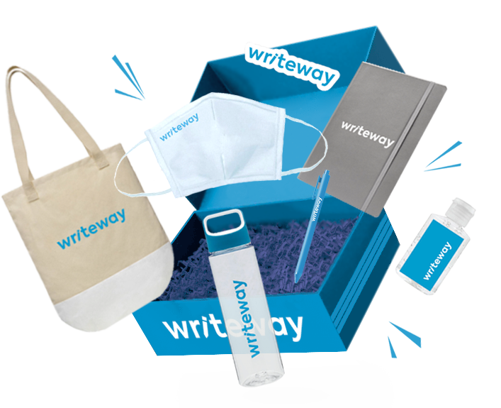 writeway swag box contents 1