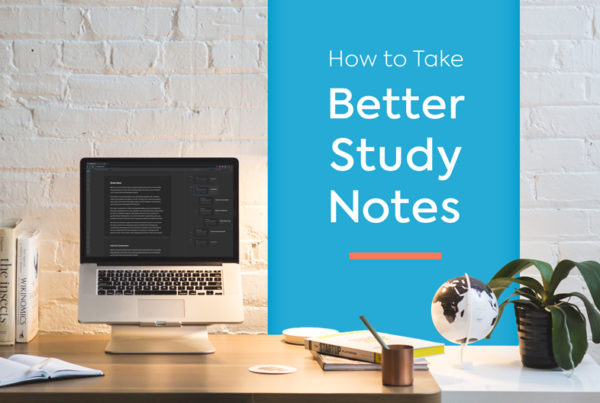 better study notes