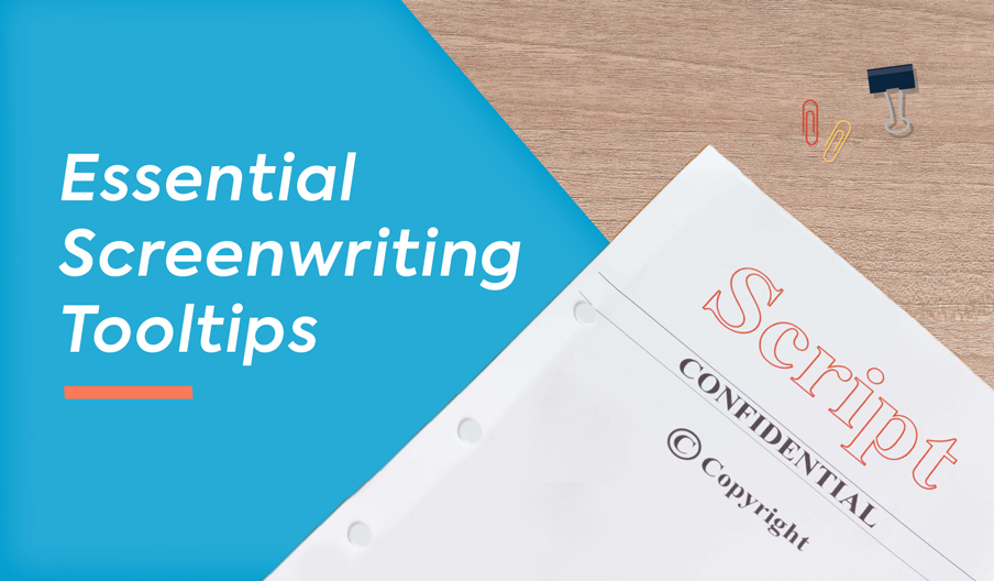 essential screenwriting tooltips banner