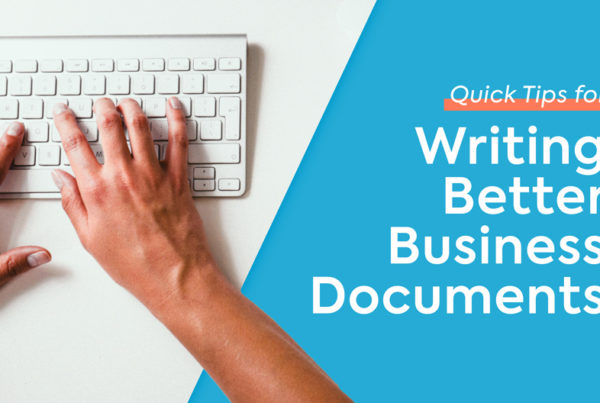 writing better business documents banner