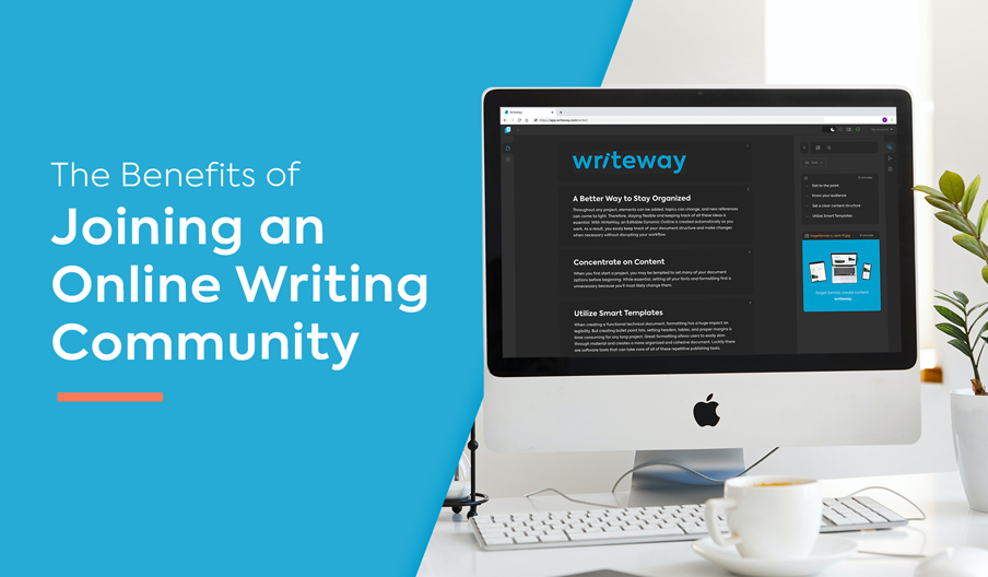 Writing Community Blog Banner