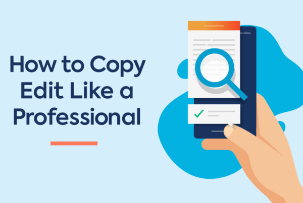 How to Copy Edit Blog Banner