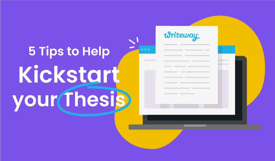 Thesis tips blog banner