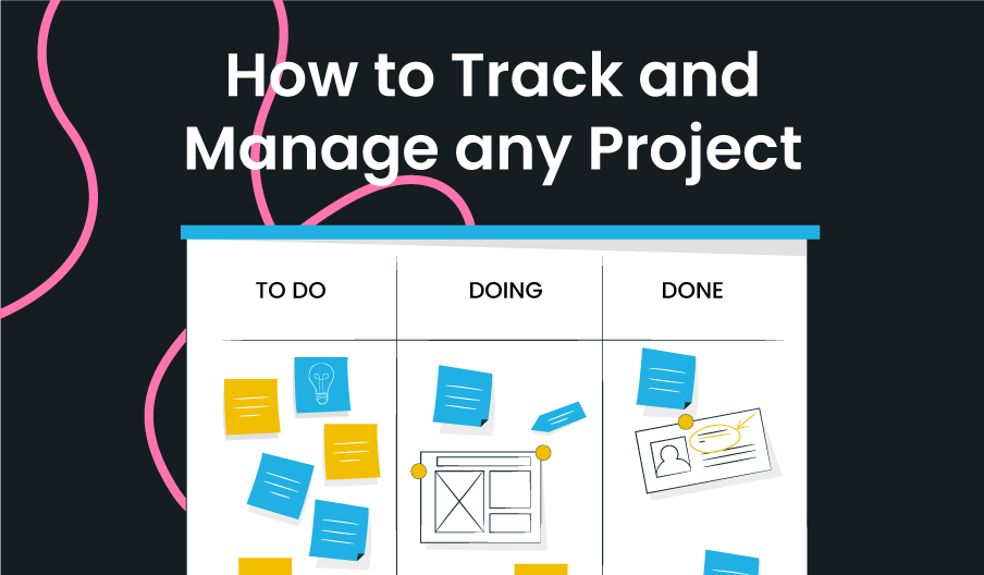track and manage project blog banner